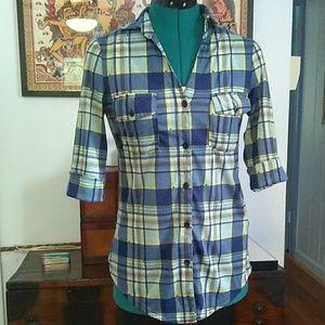 Paper Tee Flannel Shirt